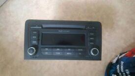 Audi concert head unit stereo