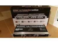 Behringer SU9920 Stereo Enhancement Processor for live music, studio or hi-fi. With original box