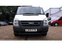 Finance - £100 P/ M-Ford Transit L/R Van 2.2 300 -1 Owner- Ex Bt - FSH - 1 YR MOT - Warranty 260 300