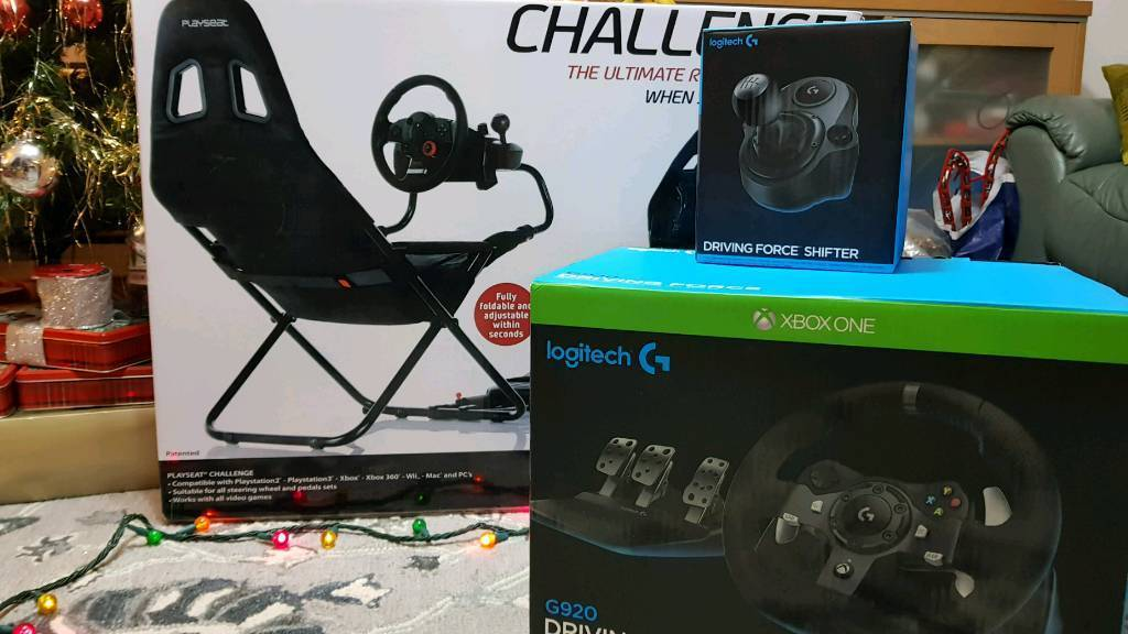 XBOX One Logitech G920 COMPLETE Racing Setup | in Gloucester,  Gloucestershire | Gumtree