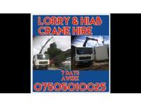 LORRY & HIAB CRANE SERVICES