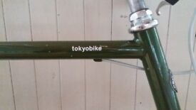 Tokyobike, Excellent condition for city living, Moss Green, Medium frame (57 cm)