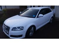 Audi A3 1.9 TDI e SE Sportback 5 door 2009 Diesel only 54,000 miles. Manual. MOT & taxed Excellent