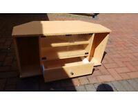 Beech effect TV Cabinet
