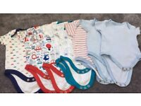 Baby vests 0-3 months