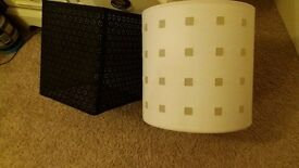 Two lovely light shades
