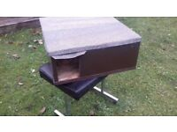 hedgehog house - box - feeder