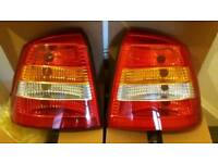 Astra mk4 (Pair) rear lights\tail lamps 98-04