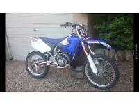 Yamaha yz 125 (not kx rm cr sx)