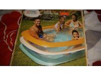family paddling pool new boxed