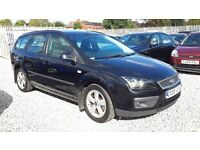 Ford FOCUS 1560cc Diesel, Estate, Manual, Black,2005(05) MotExpires: 05 February 2017