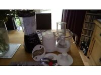 Blender and Food processor for sale