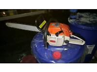 Stihl chainsaw 028 AVS wood boss