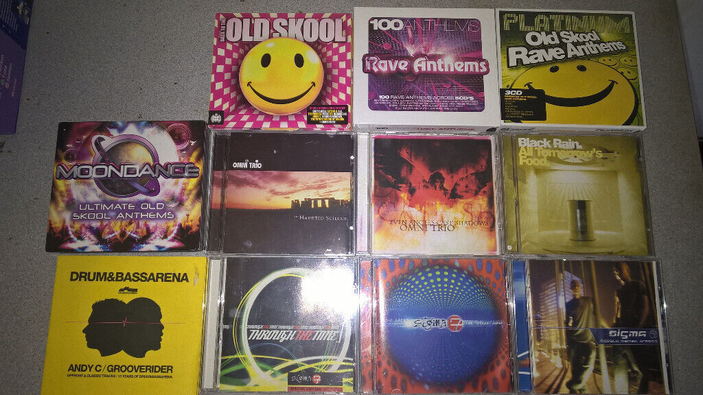 CD Collection DnB Oldskool Rave Breakbeat Drum and Bass - BARGAIN - £20 |  in Gatley, Manchester | Gumtree