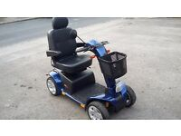PRIDE COLT XL8 MOBILITY SCOOTER 181KG MAX WEIGHT BLUE WITH LOGBOOK
