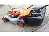 flymo quicksilver petrol push mower