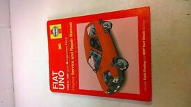 SELECTION OF HAYNES CAR MANUALS