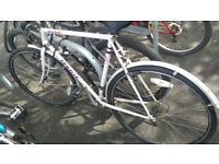 Bicycle in good condition for sale + good lock + Muddyfox Helmats