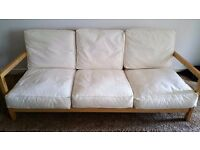 VERY COMFY MODERN IKEA SOFA INCLUDES FREE DELIVERY.