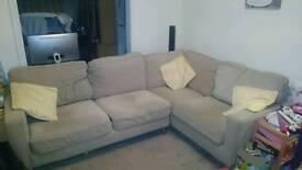 Harveys Corner sofa and matching arm chair