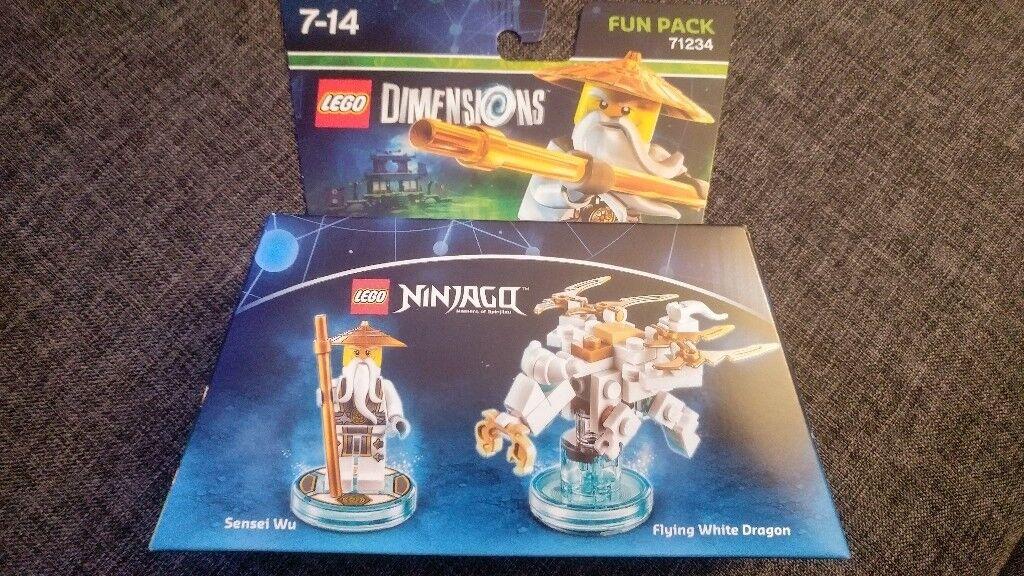 LEGO 71234 Dimensions Ninjago Sensei Wu Fun Pack 3in1 - Brand New ...