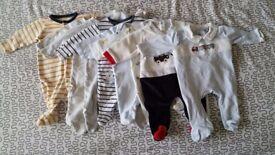 BIG bundle clothing BOY 0-3 mount + Pamper Nappies