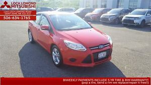 2013 Ford Focus SE - ONLY $87/BW ALL In!