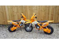 Kids ride on electric Injusa Moto X Scrambler motorbike 12 Volt