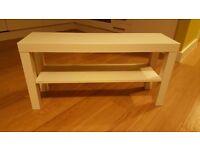 Ikea Cream TV/ Side Table