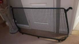 Dog bulkhead mesh guard