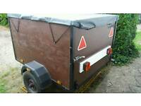 5ft x 4ft enclosed trailer