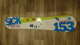 Stepchild Freestyle Snowboard 153cm