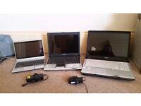 Laptops x 3 ( for repair )