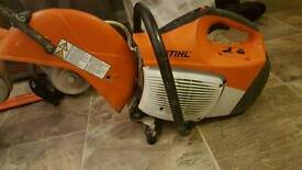 2016 stihl ts 410 disc cutter mint condition