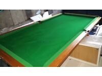 Stuning 6x3 feet table top quality 70s Snooker table heavy duty and real quality