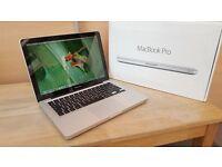 "Apple MacBook Pro 13"" Intel Core i7 8 gb ram SSD"