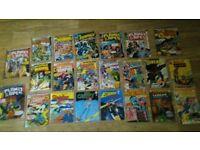 22 x vintage comics sinister tales inhumans metal man justice league hawkman