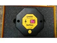 Brake decelerometer