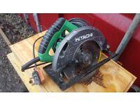 Hitachi C7 ST Circular Saw 185mm 240 Volt USED