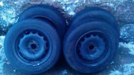 Peugeot/Citroen Winter Wheels & Tyres
