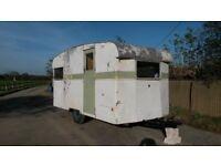 Rare 1950s vintage Cresta 4 berth classic caravan