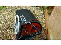 Subwoofer with loom and amp cheap