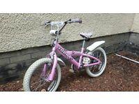 """Girls Trek Bike - 16"""" wheels"""