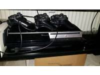 PlayStation 3 bundle with 3 Controllers and 15 games