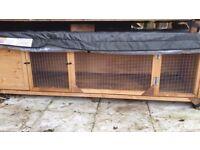 Grand Villa XL 6ft Rabbit Hutch