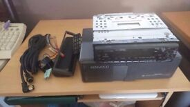 Kenwood Krc-677r tape player & kenwood Kdc-c711
