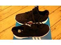 Adidas Black Tubular Runners Size 4