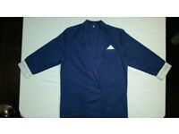 Bespoke / Tailor Made Ladies Light Navy Blue Skirt Suit