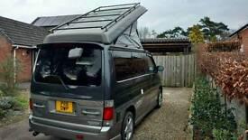Mazda bongo 2.5 l dt awd full side converted camper van