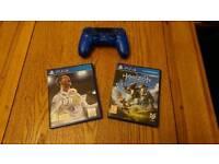 Fifa 18, Horizon Zero Dawn & DualShock controller